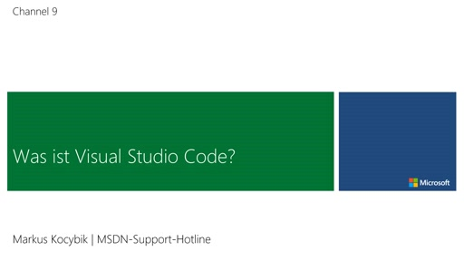 01 | Was ist Visual Studio Code?