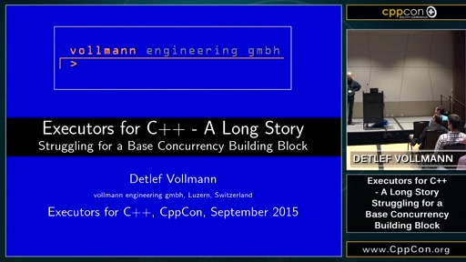 Executors for C++ - A Long Story ...