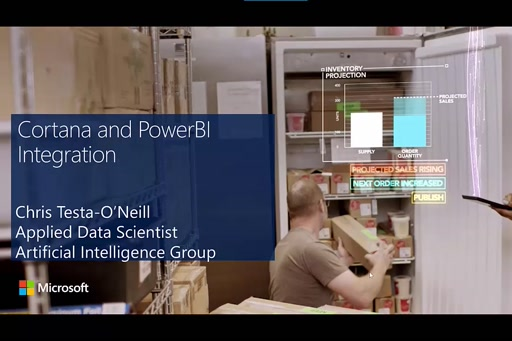 Cortana and PowerBI Integration