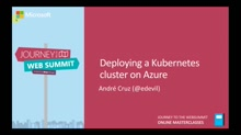 Deploying a Kubernetes cluster on Azure | André Cruz - Bright Pixel