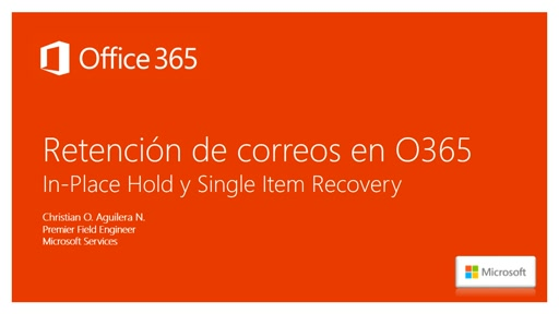 Office 365 - Retencion de correos