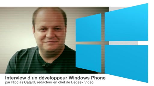 Interview de Antony Canut, étudiant et développeur Windows Phone (Appli Academy)
