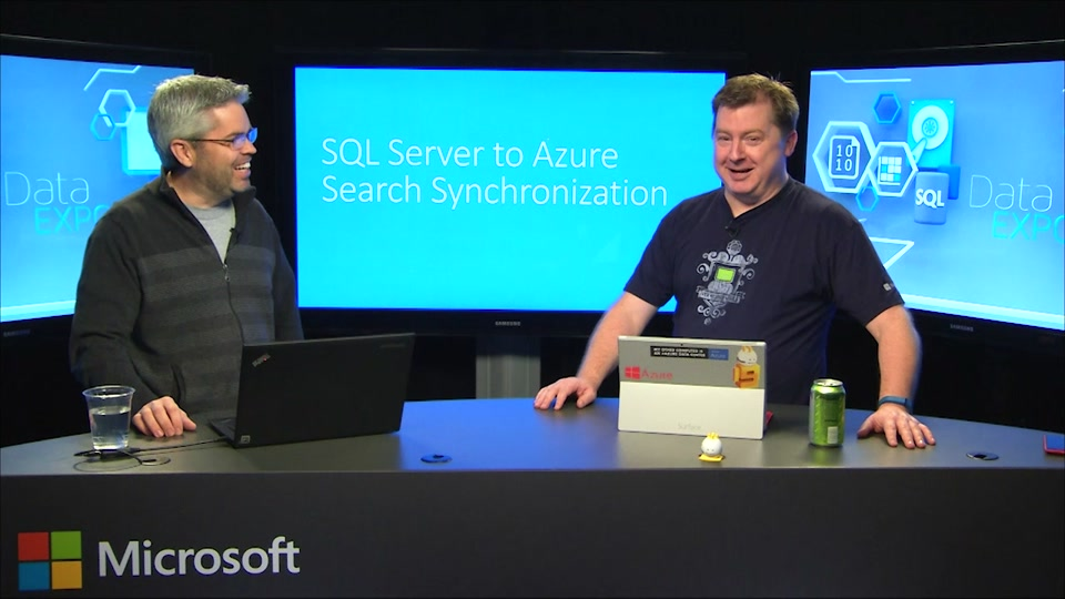 SQL Server to Azure Search Synchronization