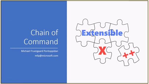 X++ Chain Of Command