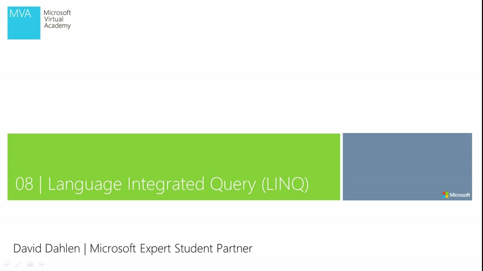 08 - Language Integrated Query (LINQ) Teil 1