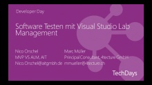 Software Testen mit Visual Studio 2012 Lab Management