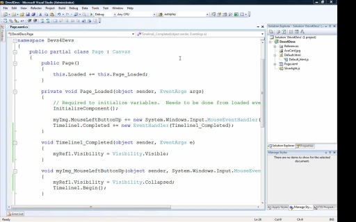 "Developers for Developers (Devs4Devs) Series - ""Silverlight - What, Where and How?"" - Part"