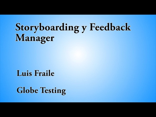 12 HORAS VISUAL STUDIO STORYBOARDING Y FEEDBACK MANAGER