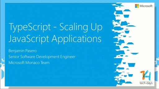 TypeScript - Scaling Up JavaScript Applications
