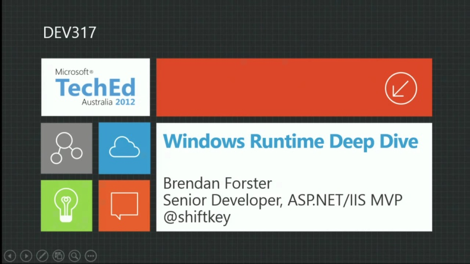 Windows Runtime (WinRT) Deep Dive