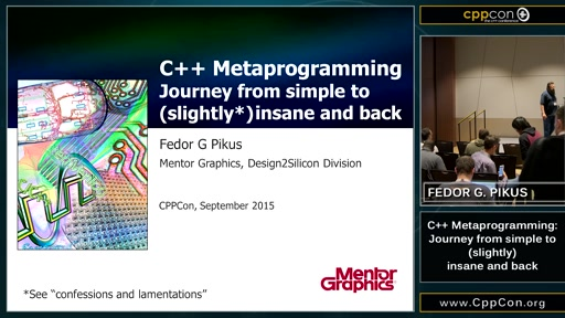 C++ Metaprogramming: Journey from simple to insanity and back