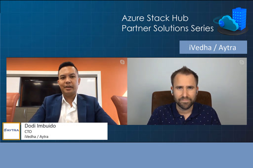 Azure Stack Hub Partner Solutions Series – iVedha