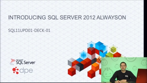 Presentation: Introducing High Availability and Disaster Recovery with SQL Server 2012 AlwaysOn