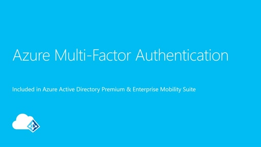 Getting started with Azure Multi-Factor Authentication