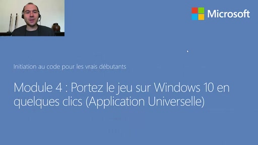 04 - Portez le jeu sur Windows 10 en quelques clics (Application Universelle)