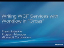 Building WCF (Windows Communication Foundation) Services with WF (Windows Workflow Foundation)