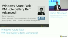 Windows Azure Pack - VM Role Gallery Items Advanced!