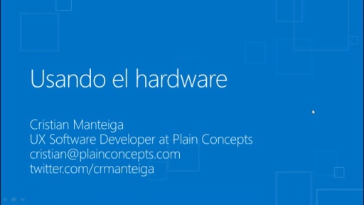 Windows 8 para desarrolladores de C# y XAML. Sensores y multimedia