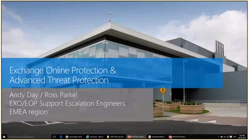 Exchange Online Protection y Advanced Threat Protection