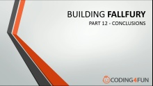 Fall Fury: Part 12 - Conclusions