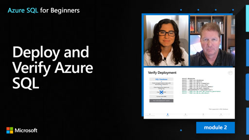 Deploy and Verify Azure SQL (13 of 61)