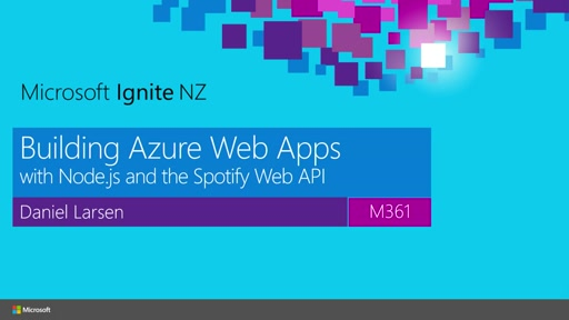 Building Azure Web Apps with Node.js and the Spotify Web API