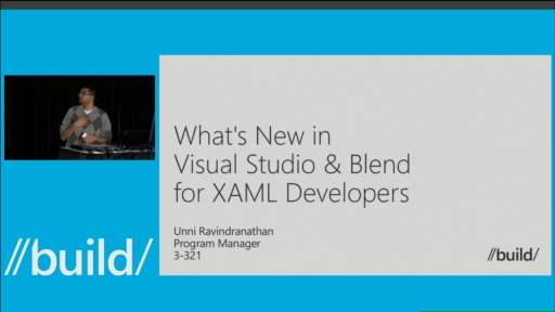 What's New in Visual Studio & Blend for XAML Developers