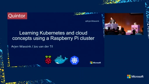 Learning Kubernetes and cloud concepts using a Raspberry Pi cluster
