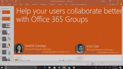 Help your users collaborate better with Office 365 Groups