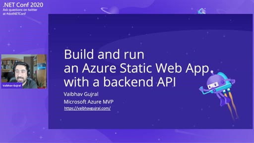 Running an Azure Static Web App with an API
