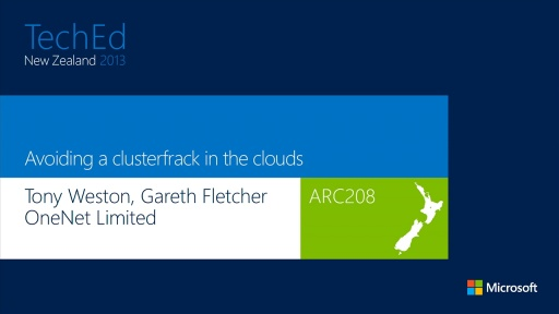 Avoiding a Clusterfrack in the Clouds