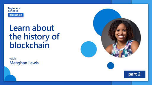 Learn about the history of blockchain [2 of 20]