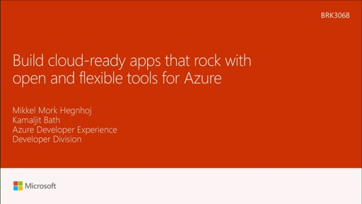 Build cloud-ready apps that rock with open and flexible tools for Azure