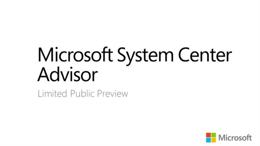 System Center Advisor Limited Preview: Onboarding