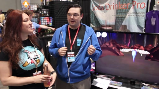 Game Dev Show Mini at PAX East - Soda Drinker Pro