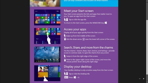 Windows 8.1 User Readiness Toolkit: (03) User Tip Sheet