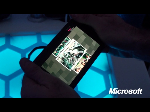 Live from Nokia World 2011:  Nokia Kinetic Device