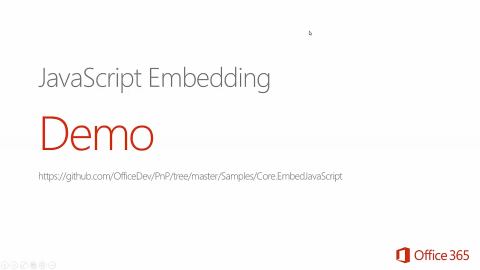 How to update your SharePoint pages via the embedding of JavaScript