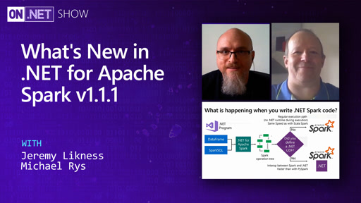 What's New in .NET for Apache Spark v1.1.1