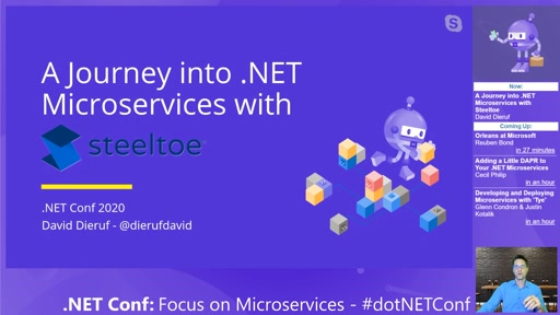 A Journey into .NET Microservices with Steeltoe