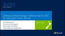Storage and Availability Improvements in Windows Server 2012 R2