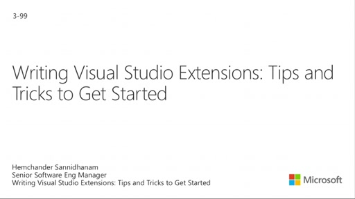 Writing Visual Studio Extensions: Tips and Tricks to Get Started