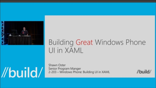 Windows Phone: Building UI in XAML