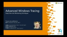 Advanced Windows Tracing – Deep Dive into Monitoring Techniques