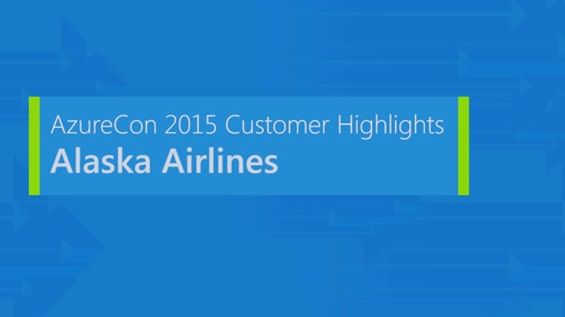Alaska Airlines on Microsoft Azure