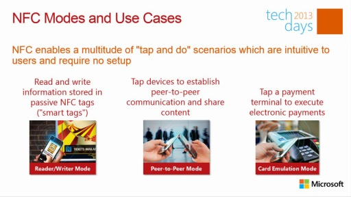 Tap and Go: Proximity Networking in WinRT