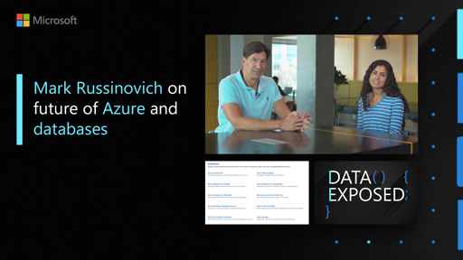 Mark Russinovich on future of Azure and databases | Data Exposed