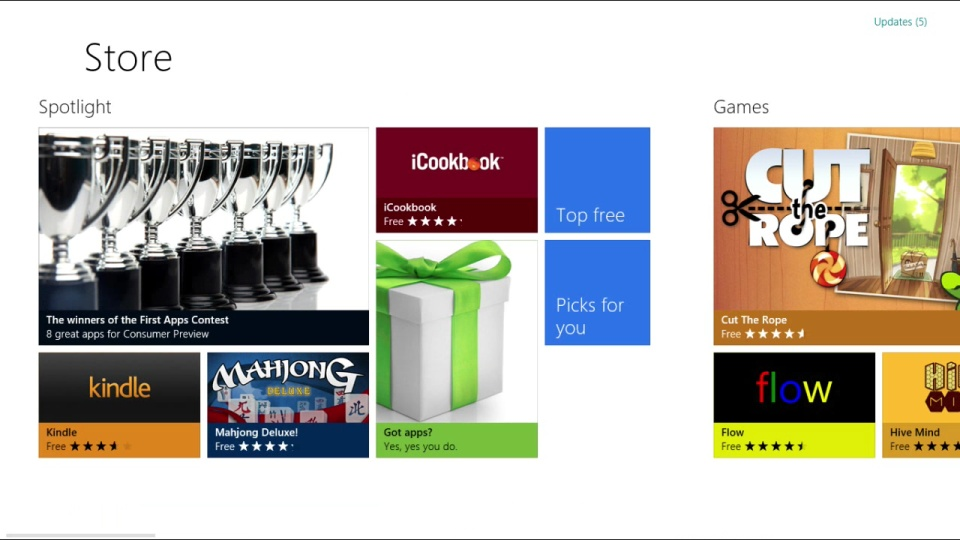 Introducing the Windows Store
