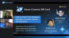 Online and Real-Time Database Migration to Azure Cosmos DB with Striim
