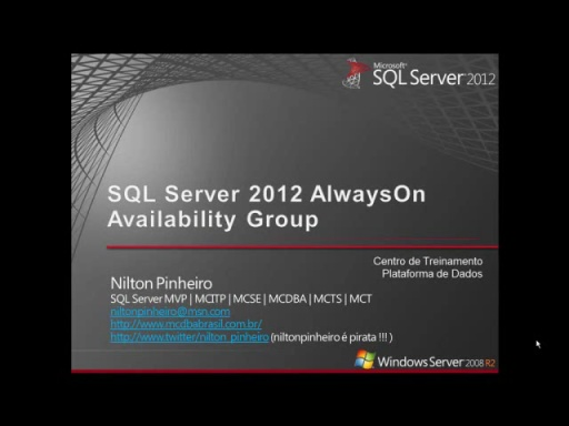 Introdução ao SQL Server 2012 AlwaysOn Availability Groups